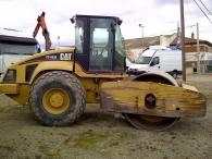 Rulo Caterpillar, modelo CS663E, año 2003, 6270 horas