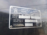 Rulo para aglomerado marca Corinsa, del año 2006 con 6.340 horas de trabajo. En perfecto estado de conservación.