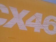 Excavadora CASE 460CX,  20.000horas, año 2.000