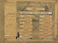 Bañera basculante marca Leciñena, de 2 ejes de ballesta, año 1996, especial tractoras 4x4 y 6x4.