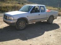 Todoterreno de ocasión marca Ford Rnager Pick Up, 4x4, del año 2004.