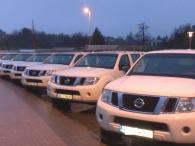 8 unidades Todoterreno Nissan Pathfinder, del año 2011, 4x4, diesel, 2488cc, 190CV
