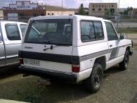 Todoterreno Nissan Patrol de 3 puertas.