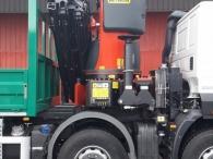 Nuevo camión grúa IVECO ASTRA HD9 84.50, 8x4 de 500cv, Euro 6 con cambio automático de 16v, con caja abierta y  grúa Palfinger PK78002 de 6 prolongas hidráulicas con JIB PJ170E. E  de otras 6 prolongas hidráulicas, con posibilidad de poner alguna más manual.  Equipamiento:  - Cruise control - Rejillas protección faros delanteros - Aire acondicionado - Visera  - Avisador acústico marcha atrás. - Gancho de maniobra trasero. - Barras estabilizadoras. - Bloqueo diferencial. - Espejos calefactados y telecomandados. - Asiento con suspensión neumática. - Suspensión trasera reforzada. - Protección del radiador - Deposito de Ad-Blue y filtro calefactados. - Radio CD con manos libres. - Toma de fuerza - 5º punto sujeción cambio