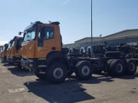 15 new units ASTRA HHD9 86.48. 8x6, 480cv, Euro 3. Iveco Cursor 13 engine, automatics with  intarder. HHD9 version, Heavy Heavy Duty of 3m width, 63Tn of GVW and a GCW of 250Tn.