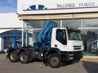 Tractor Head IVECO AD380T41 6x4 with crane.