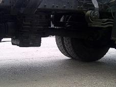 Tractora MAN 19.414 FLT, 4x4, 420CV, con suspensión de ballestas y equipo hidraulico. Fabricación año 2000.