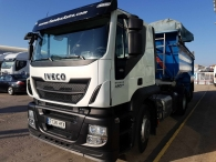 Tractor Head IVECO AT440S42T/P, Hi Road, manual, Euro 6, year 2014 with 160.450km, with tipper trailer year 2006
