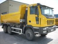 Dumper Astra modelo 64.41, 6x4 del año 2007, tan solo 5.500km