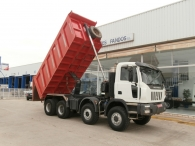 Tipper brnad ASTRA HD8 86.56, year 2007, box 20m3, manual gearbox