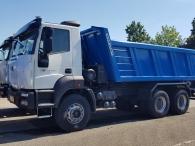 Camión basculante nuevo ASTRA HD9 64.38, 6x4, 380cv, Euro3, manual.  Con caja basculante Gervasi de 16m3