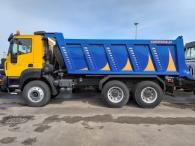 Camión basculante nuevo ASTRA HD9 64.42, 6x4, 420cv, Euro3, manual.  Con caja basculante Cantoni de 16m3