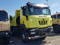 New truck ASTRA HD9 66.42, 420hp, Euro3, manual. With tipper box Gervasi of 16m3.