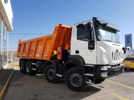 New IVECO ASTRA HD9 84.50, 8x4 of 500cv, Euro 6 with automatic gearbox. With Meiller box of 18m3.