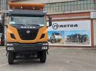 New IVECO ASTRA HD9 86.50, 8x6 of 500cv, Euro 6 with Allison 4700  gearbox with retarder. With new CANTONI box 22m3