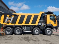 New IVECO ASTRA HHD9 86.50, 8x6 of 500cv, Euro 6 with Allison 4700  gearbox with retarder. With new CANTONI box 24m3