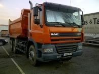 Dumper DAF CF85.380, 6x4, de diciembre de 2006, solo 57.000km