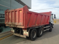 Tipper truck IVECO AD380T35, 6x4, year 2007, with only 85.204km.