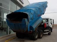 Dumper IVECO AD380T35, 6x4, del año 2006, 166.000km