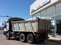 Tipper truck IVECO AD380T38, 6x4, year 2006.