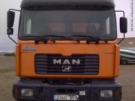 Dumper MAN 33.364, 6x4, manual, año 2001, caja Meiller Kipper.