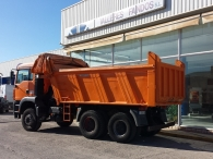 Tipper MAN TG 360A, 6x4, with Meiller box, year 2004, 218.045km, manual, good conditions.