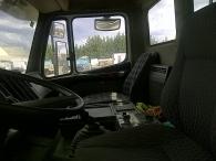 Dumper usado marca Mercedes 2629AK, 6x6, caja Meiller Kipper.