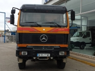 Tipper truck Mercedes 2635, 6x6, year 1991.