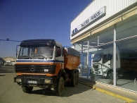 Tipper truck Mercedes 2635AK, 6x6, year 1991