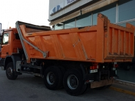 Tipper truck Mercedes 3336.AK, 6x6, year 2007, 141.000km, Meiller Kipper box, in very good conditions.