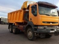 Dumper Renault 385.34, 6x6, del año 1999