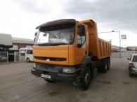 Dumper Renault Kerax 400.34, 6x4, Euro 2, no es DCI, es el mecánico