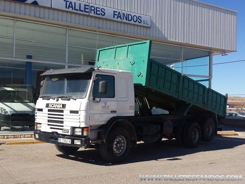 Tipper truck Scania 113HL 6x2 | Mixer | Useds ASTRA - Fandos