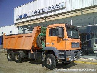 Volquete/Dumper MAN TGA 360 6x4