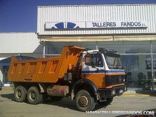 Volquete/Dumper Mercedes 2629AK 6x6