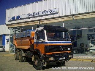 Volquete/Dumper Mercedes 2635AK 6x6