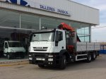 Box with crane IVECO AD260S36Y/PT