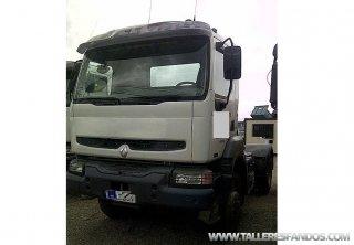 Tractor unit Renault KERAX 420 4X4