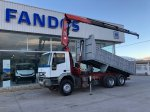Tipper with crane IVECO MP260E31/TN  con FASSI 195A.24