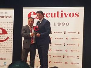 premio EJECUTIVOS DEL AÑO DE ARAGON en la categoría de Estrategia Empresarial