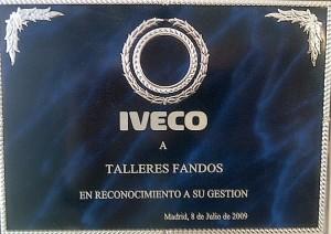 Reconocimiento Gestion 2009