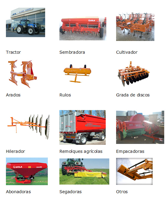 Talleres Fandos Maquinaria Agricola Teruel España