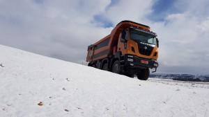 Buena manera de empezar a probar el ASTRA HHD9 86.56 Demo, con la nevada que nos ha caído estos días.