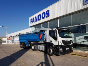 Cabeza tractora IVECO AT440S42T/P, Hi Road, manual, Euro 6