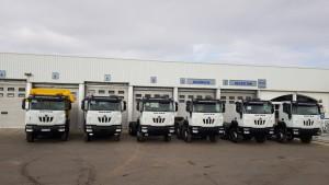 España se llena de camiones ASTRA de la mano de Talleres Fandos