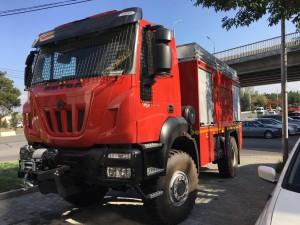 Entrega de 19 camiones ASTRA 4x4 para bomberos de Georgia.