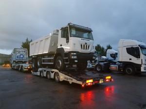 Dumper Iveco ASTRA HD9 64.50 con Meiller de 16m3
