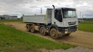 Trakker AD410T41 con Allison 4500 y GVW 41Tn.