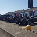 Amplio stock de camiones con distintas configuraciones.