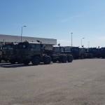 Stock camiones civiles y militares.